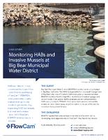Case studt: мониторинг HAB на озере Биг Беар, Калифорния